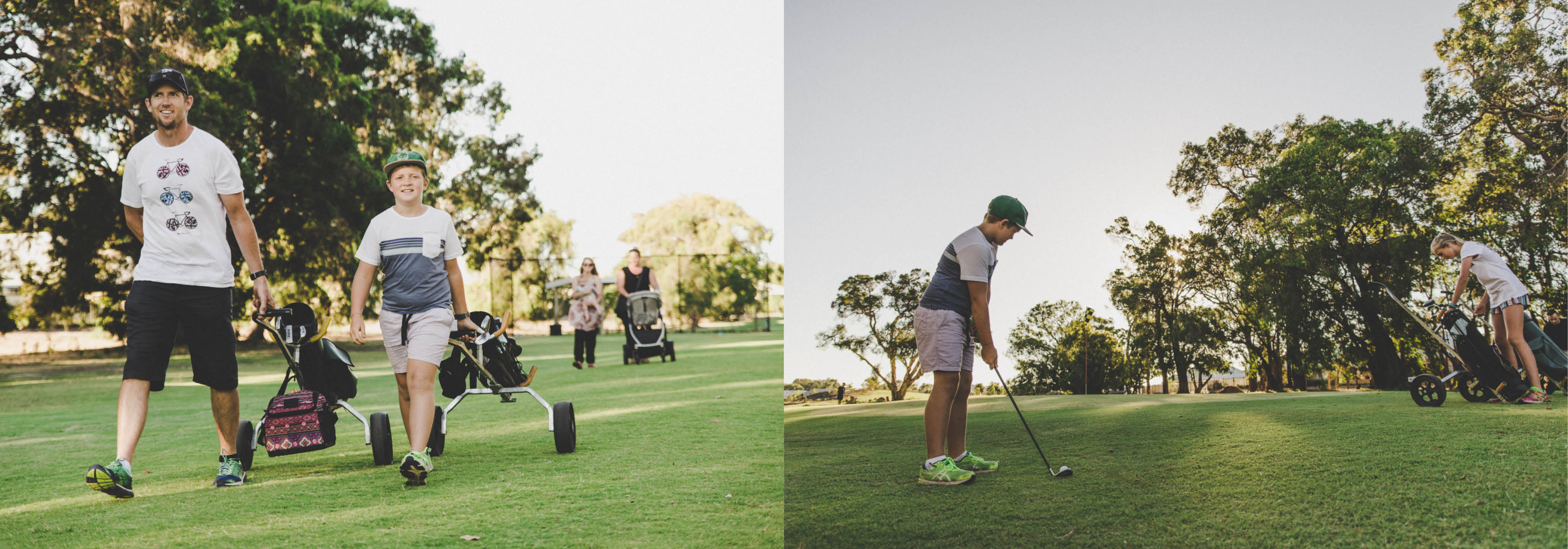 Family Holiday Busselton | The Par 3 at Old Broadwater Farm. Family activities Busselton, things to do in Margaret River. Cafe Busselton.